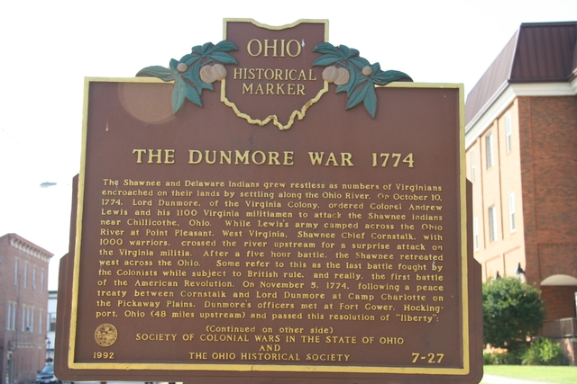 Lord Dunmore's War