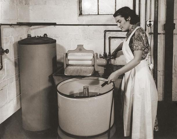 First clothes dryer