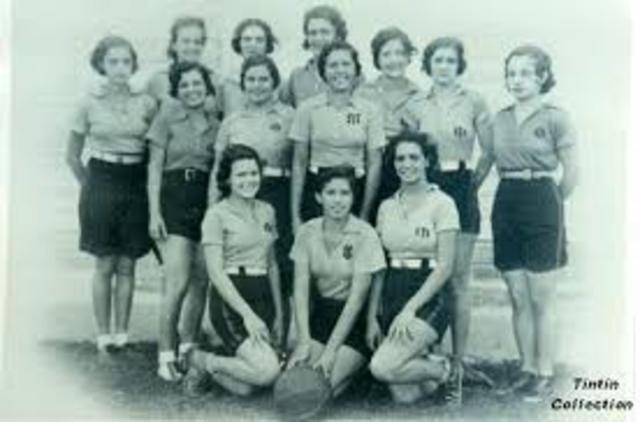 Primer torneo olímpico femenil