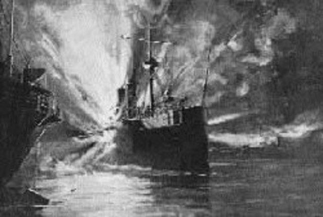 """Explosión del """"Maine"""""""