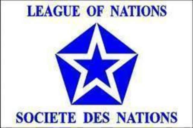 Se crea la Sociedad de Naciones