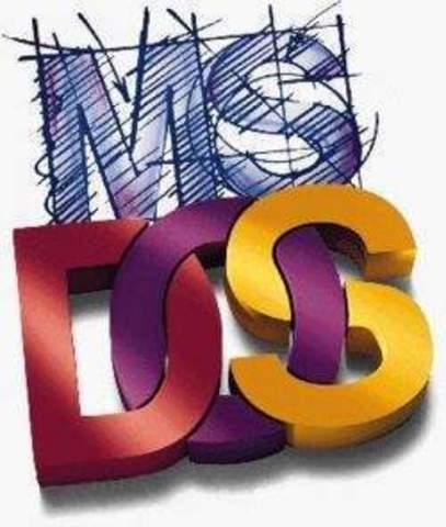 Sistema Operativo: MS-DOS