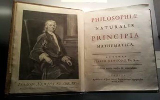 И. Ньютон «Математические начала натуральной философии»