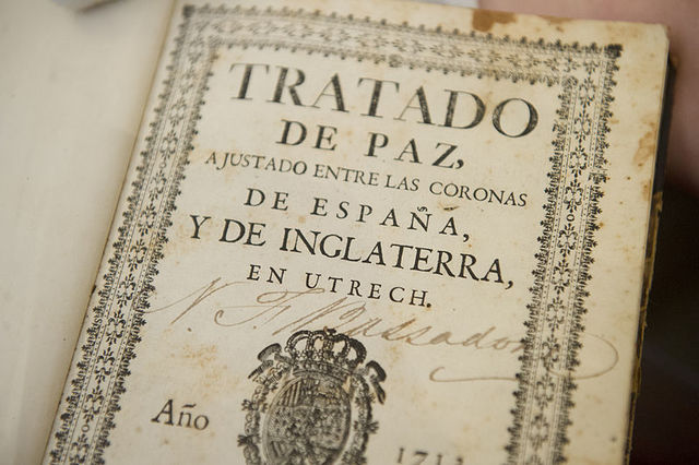 (1)Treaty of Utrecht