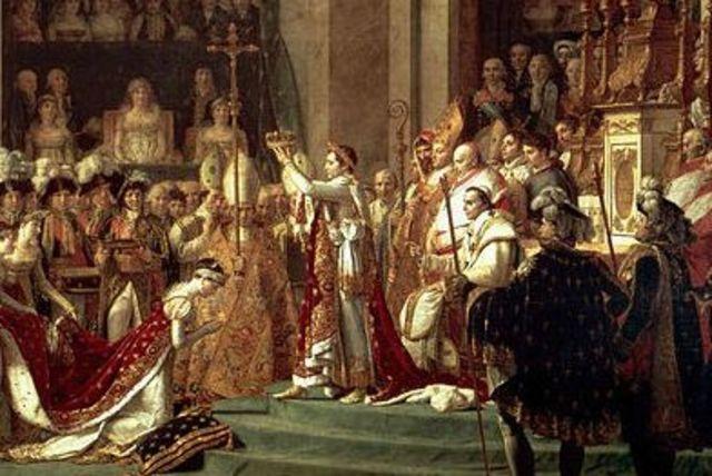 (1)Napoleon crown as Emperor