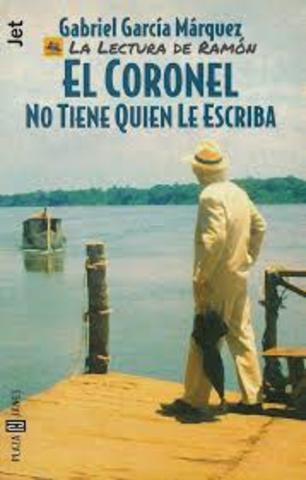 El coronel no tiene quien le escriba, Gabriel García Márquez