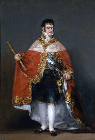 Ferdinand VII 1st Reign