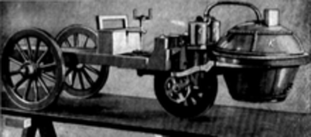 First Self Propelled Vehicle