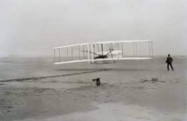 First Human Flight