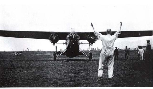 England's 1st aircraft flight