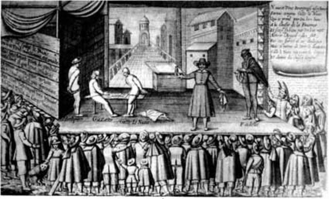 Aparación del teatro medieval