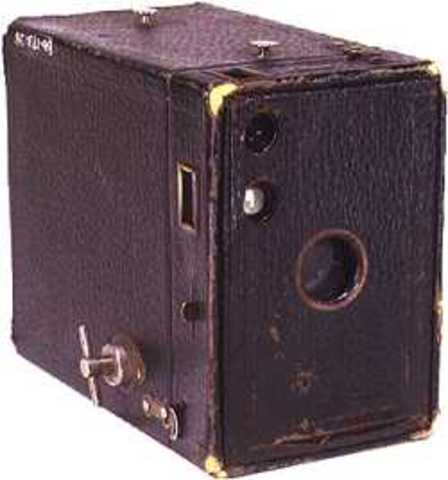 """First Mass Marketed Camera - """"The Brownie"""""""