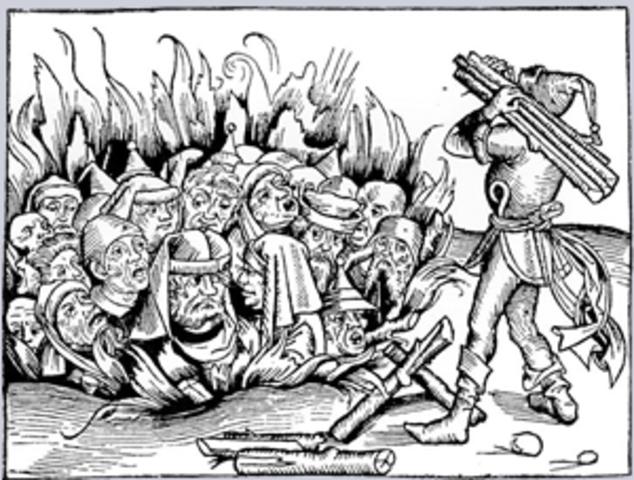 hertog Hendrik III verjaagt de Joden
