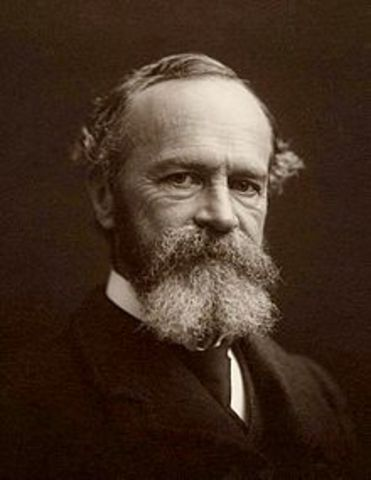 William James studies the human in every aspect