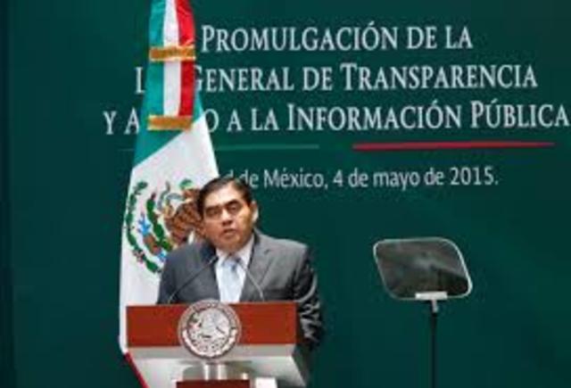 Se publica la Ley General de Transparencia y Acceso a la Información Pública