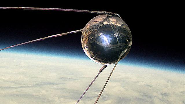 Sputnik sent to space