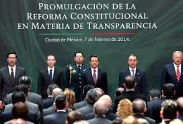 Reforma constitucional en materia de transparencia, autonomía al Nuevo IFAI