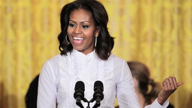 Michelle Obama's last public speech