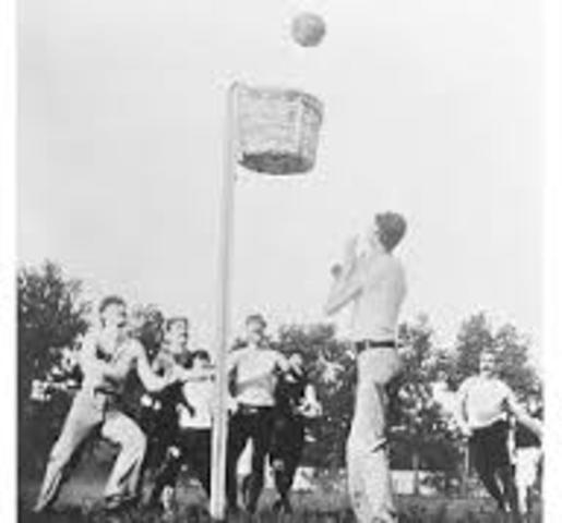 Primer partido de Basquetbol