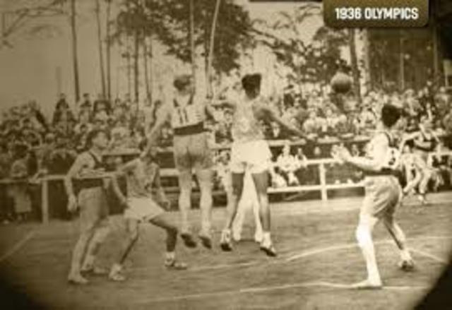 Aparición Oficial de Baloncesto Juegos Olimpicos