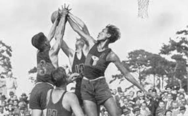 Aparicion del Basquetbol en los Juegos Olimpicos