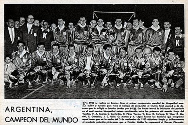 Primer Campeonato de Basquetbol