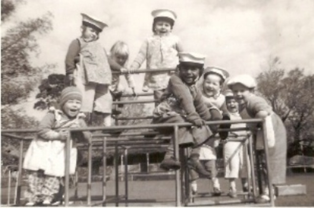 WWII sees a rise of work-based child care facilities