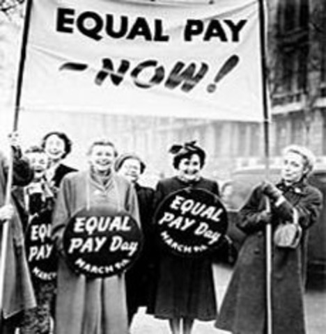 Unions fight for Equal Pay
