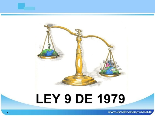 Ley 9 de 1979 - Politicas de salud publica para el bienestar de los trabajadores