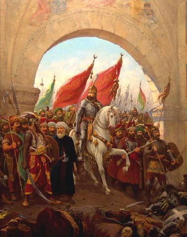 Arab forces conquer