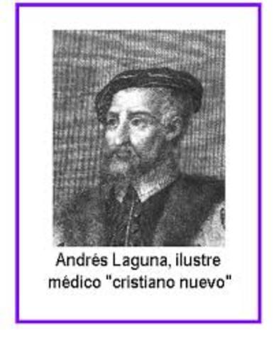 Andrés de Laguna (siglo XVI)