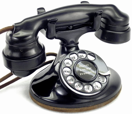 """Western Electric """"202"""" with Dial in 1930s"""