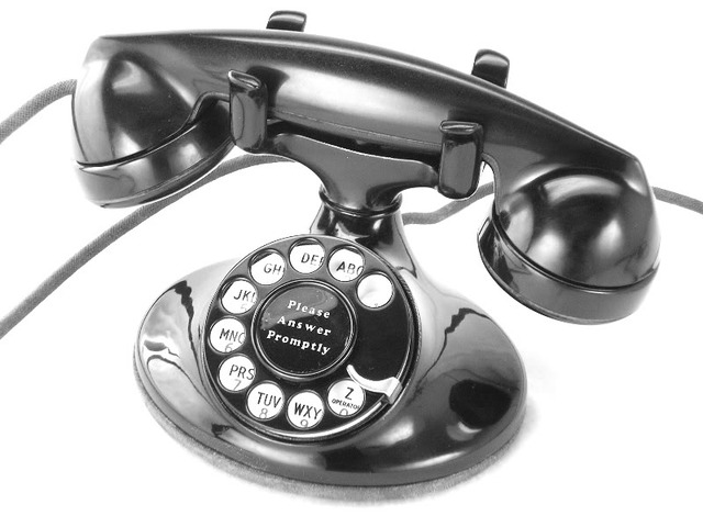 """Western Electric """"202"""" with Dial in 1940s/1950s"""