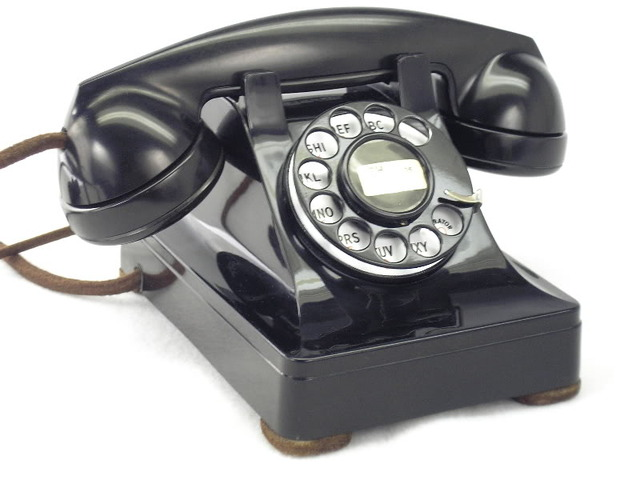 """Western Electric """"302"""" with Dial in 1940s/1950s"""
