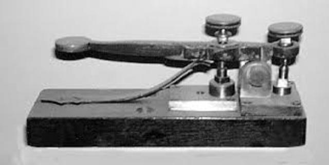 Samuel Morse invents the telegraph.