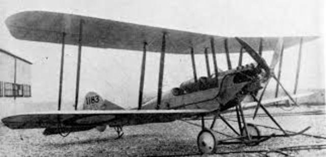 Orville Wright makes the first powered airplane flight.