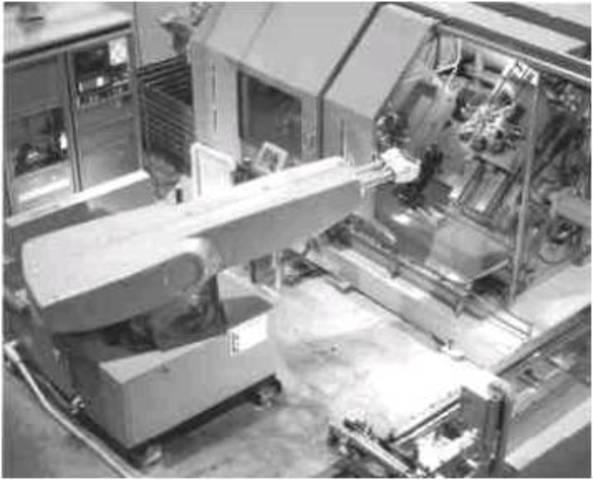 primer robot industrial. UNIMAT