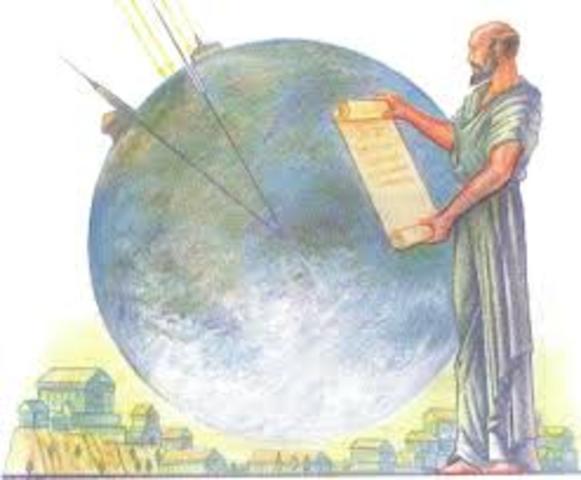 Eratóstenes (Nacido en 276 a.C. en Cirene (Libia). Muere en 194 a.C. en Alejandría)