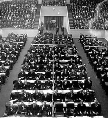 Abandonament per part d'Alemania de la Societat de Nacions