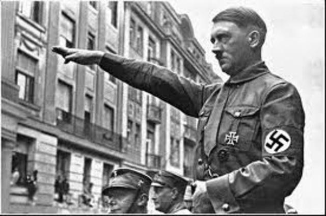 Hitler, el nou cap d'Estat
