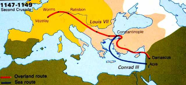 Second Crusade was launched