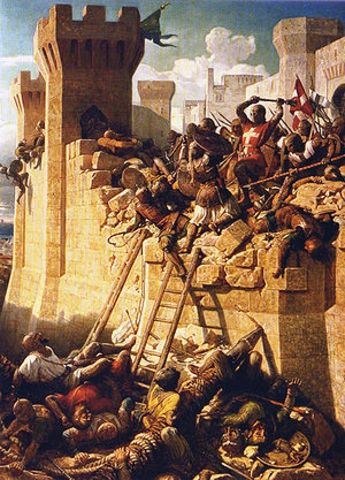 Fall of Acre marked the end of the Crusades