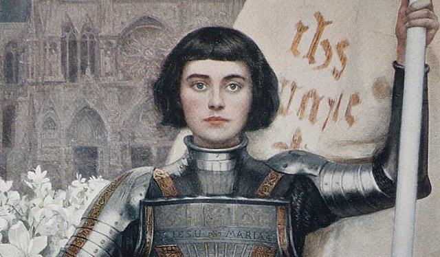 Joan of Arc seeks out leader to drive the England out of France