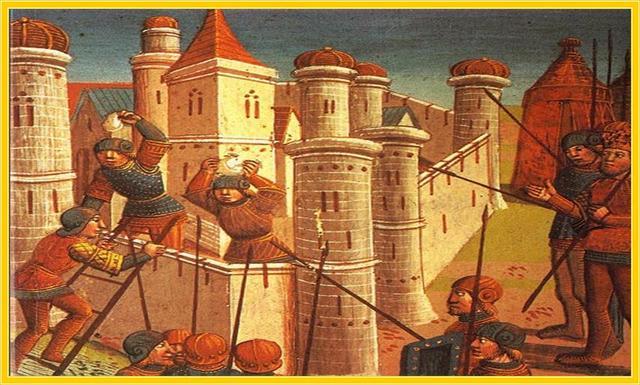 : Ottoman Turks take Constantinople and end Byzantine civilization.