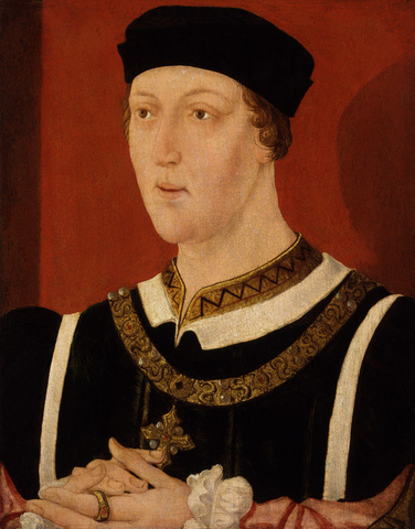 Henry VI of England (1422-1461) wages the Wars of the Roses