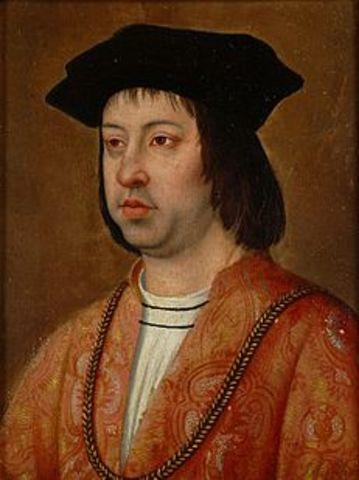 Ferdinand marries Isabella of Castile