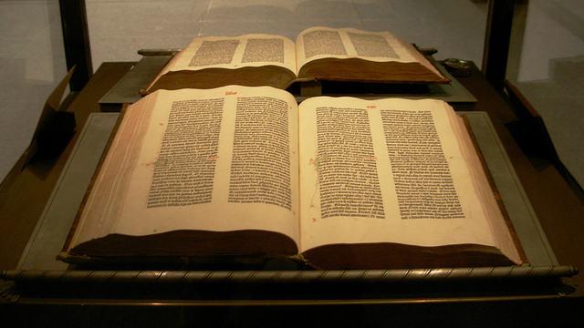1456 - Biblia de Gutenberg