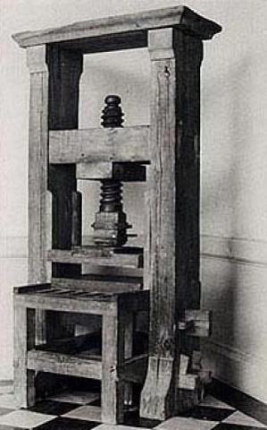 1539 - Primera Imprenta en México