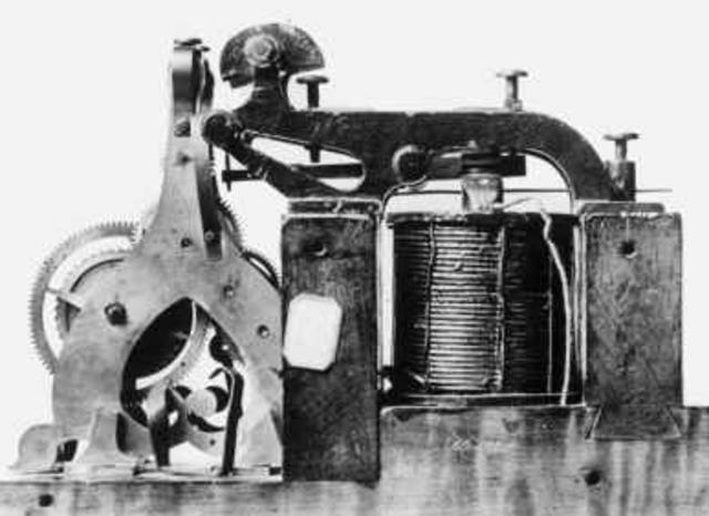 1837 – Telegrafo de Morse