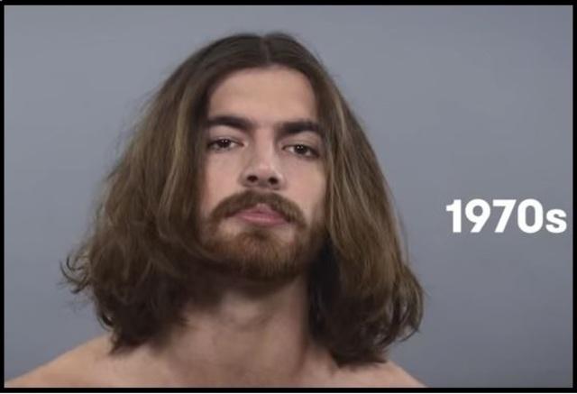 peinado de los años 1970's
